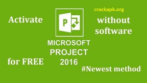 Microsoft Project 2016 Crack